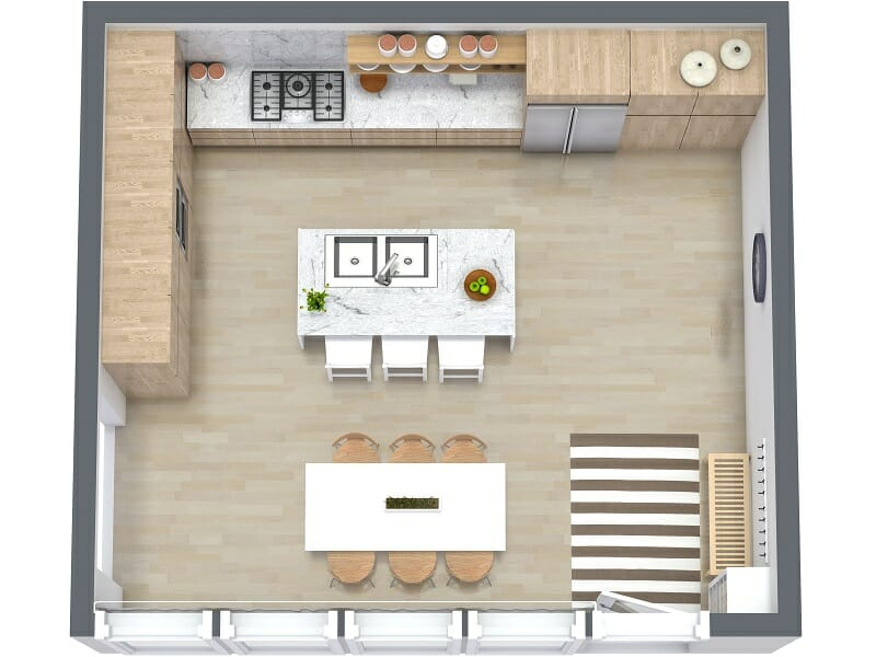 How Design Kitchen Layout Free