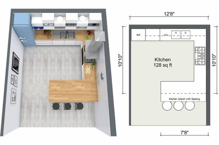 Plan My Kitchen Layout