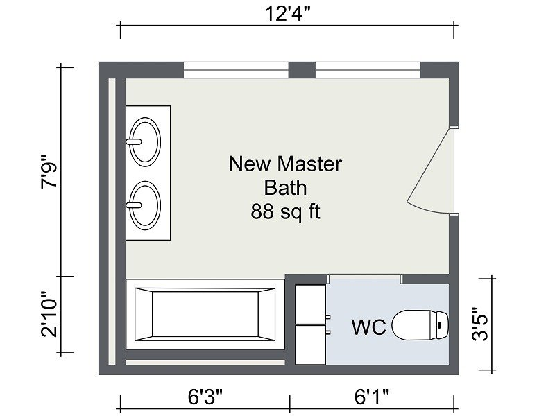 Online Bathroom Design Planner