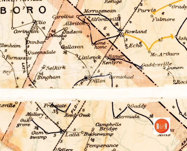 Spartanburg County Maps Old