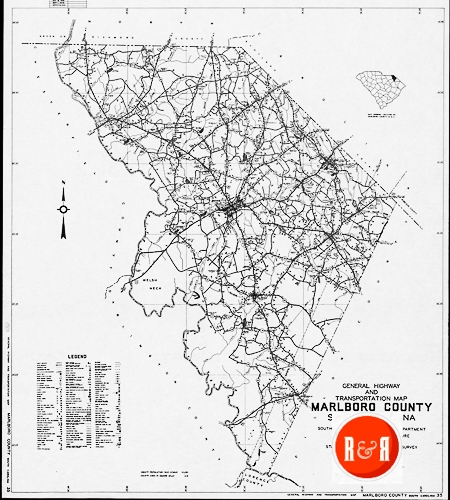 County Spartanburg Maps Old