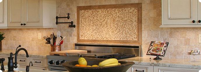 Kitchen Granite Tiles Design