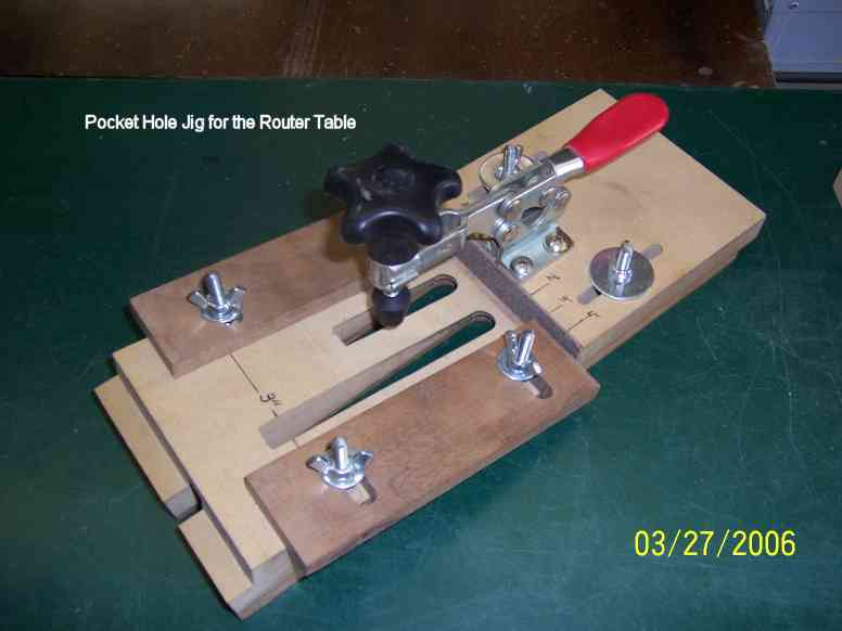 Pocket Hole Jig For The Router Table Router Forums