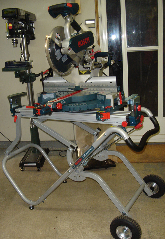 Bosch 5412l 12 Quot Dual Compound Sliding Miter Saw And T4b