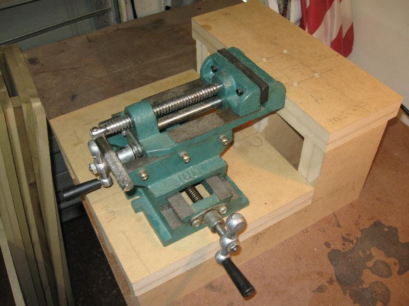 Cross Slide Vise For Benchtop Mortiser Page 2 Router