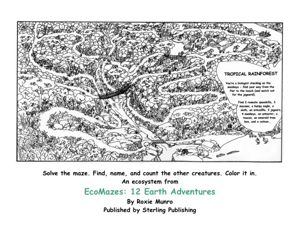 maze coloring pages # 12