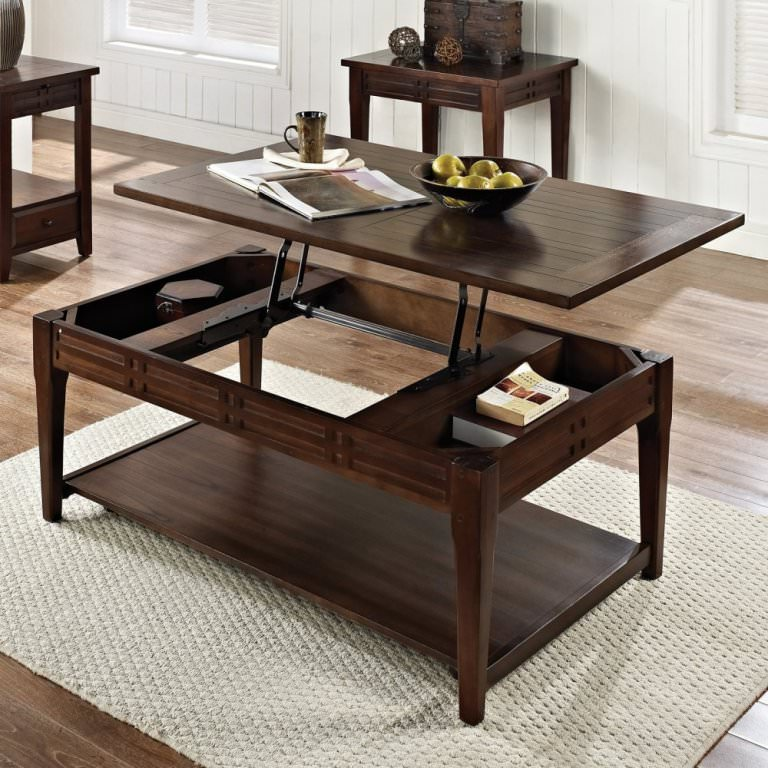 Long Rectangular Coffee Table