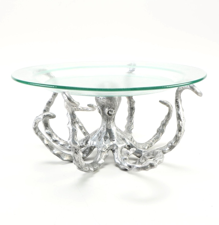 Large White Square Coffee Table