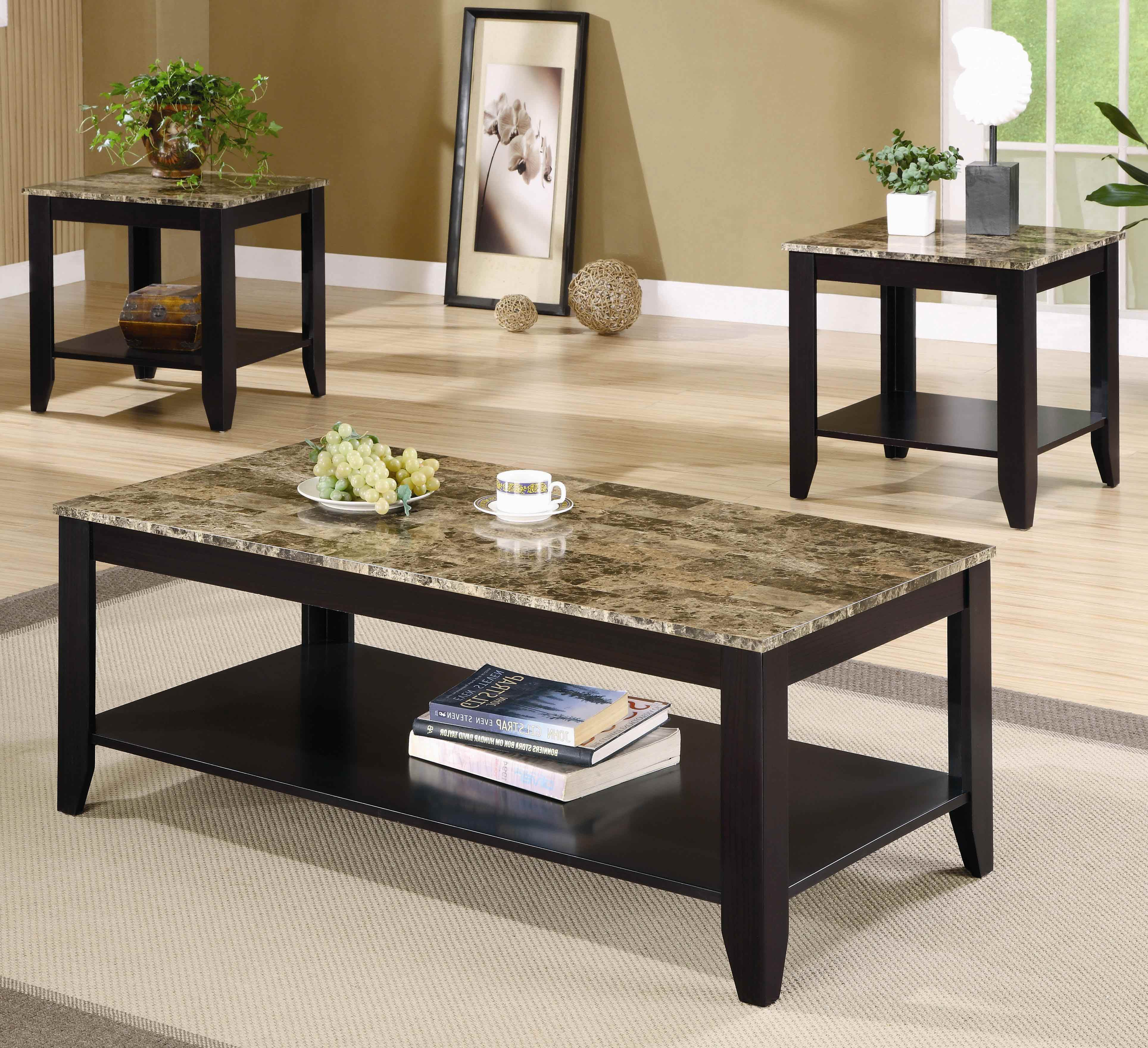 Coffee Table End Tables