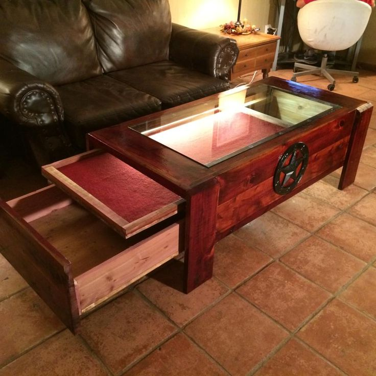 Coffee Table Gun Safe Plans