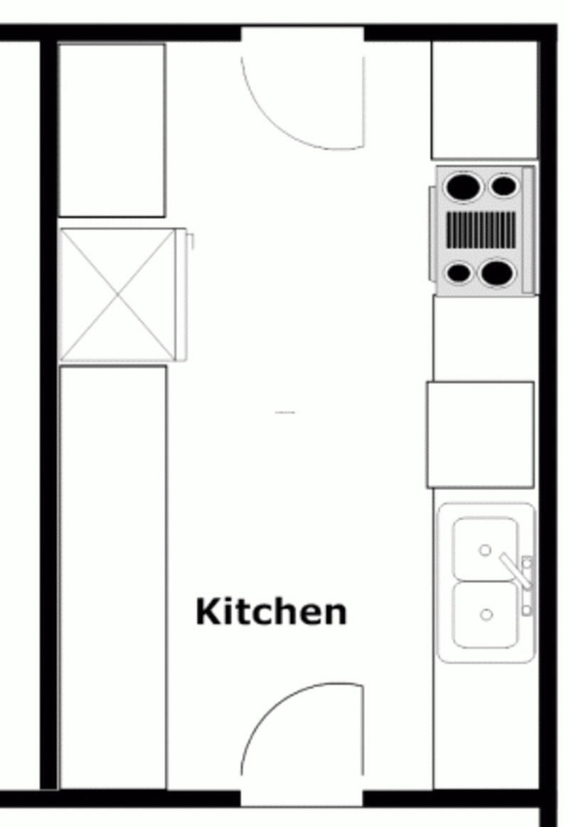 Kitchen Layout Floor Plans