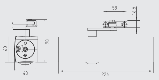 Matic Dor Manual O Parts