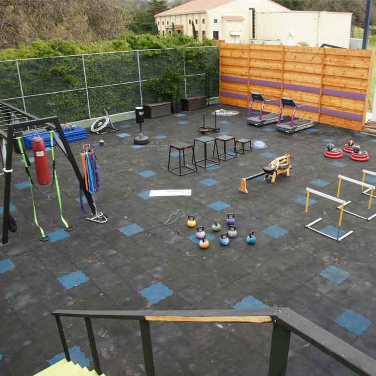 Backyard Floor Tiles
