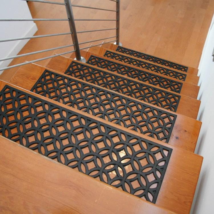 Azteca Indoor Outdoor Stair Treads   Indoor Outdoor Stair Treads   Anti Slip Stair   Ellsworth Indoor   Waterhog Stair   Carpet Stair   Rubber Backing