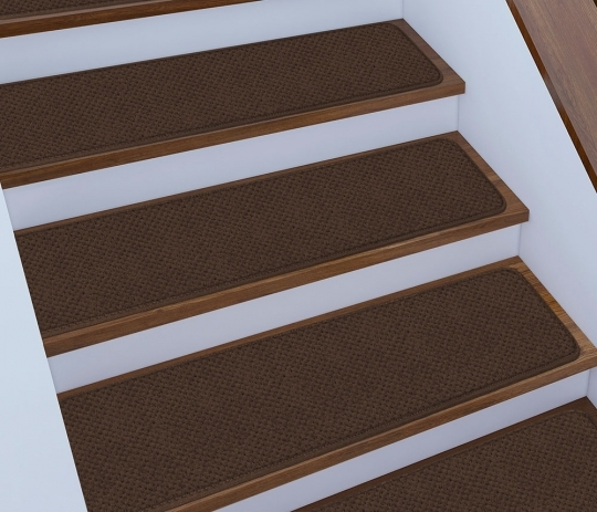 12 Skid Resistant Carpet Stair Treads 16 Colors 4 Sizes Rug Street   Rubber Stair Nosing For Carpet   Metal Stair   Aluminium Stair   Wood   Anti Slip   Non Slip