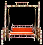 Code 32 Buy Carved Indian Maharaja Wooden Swings Wooden
