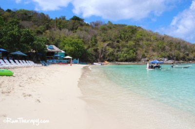 Dinghy's Beach Bar & Grill, Water Island – Rum Therapy