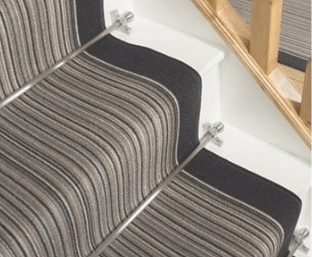 Stair Rods Or Stair Clips What S The Difference And Which Should   Pure Era Carpet Stair Treads   Self Adhesive Bullnose   Skid Resistant   Stair Railing   Grey   Non Slip