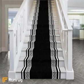 Carpet Runners Rugs For Stairs And Hallways Runrug Com   Stair Rug Runners Cheap   White   Hardwood   Brown   Interior   Woven