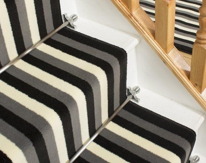 How To Fit A Stair Runner 10 Step Guide Runrug® Blog | Stapling Carpet To Stairs | Electric Stapler | Flooring | Stair Tread | Landing | Stair Runner