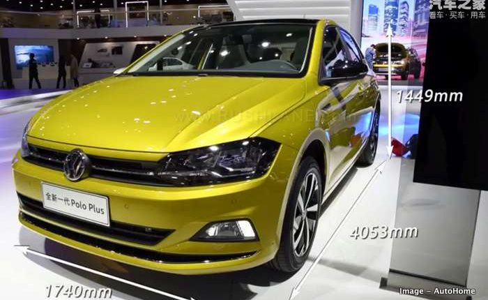 2020 Volkswagen Polo Plus Debuts Longer Than Maruti Baleno
