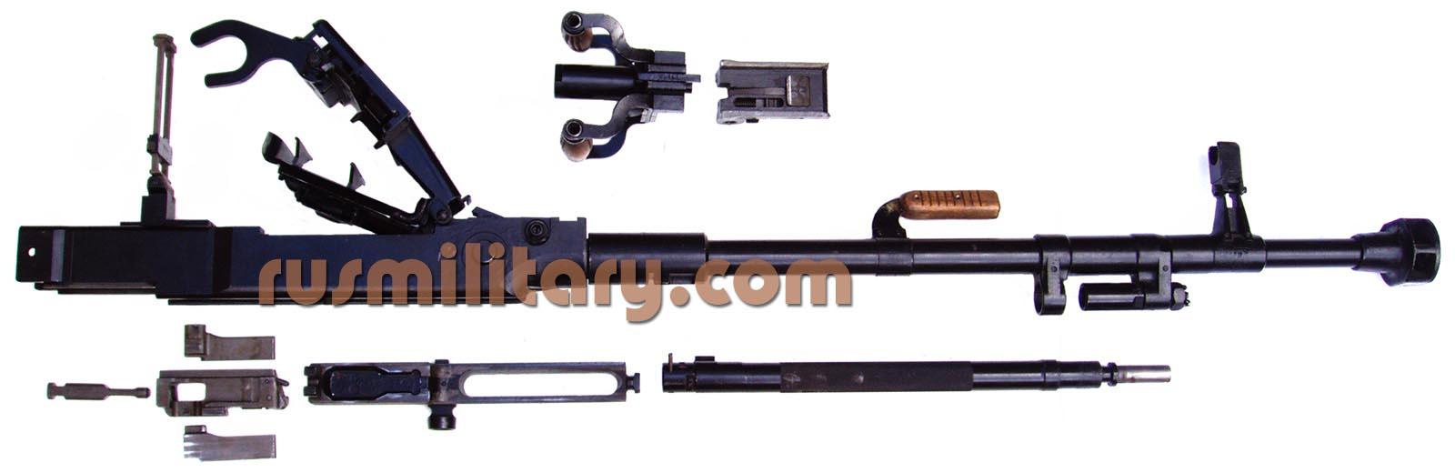 Belt Fed Machine Gun Mechanism