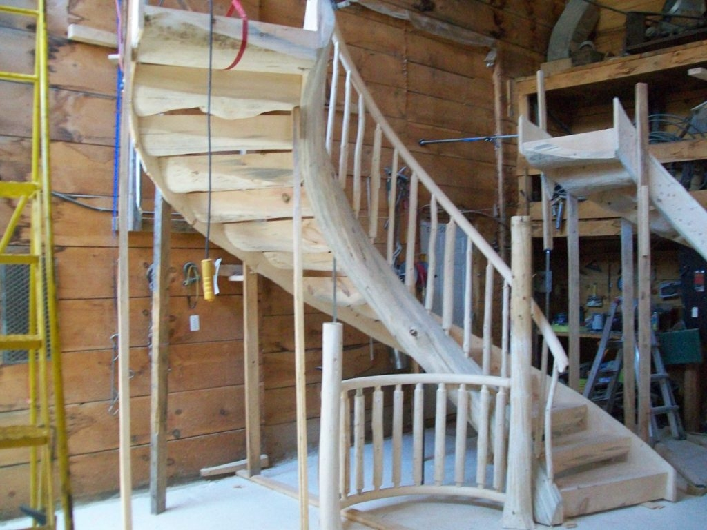 Log Home Stair Railings – Rustic Stairs   Home Stairs And Railings   Craftsman   Low Cost   Easy Diy   Inexpensive   Beautiful