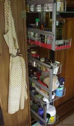 Rv Storage Food Pass Thru Bins And Tots Hidden