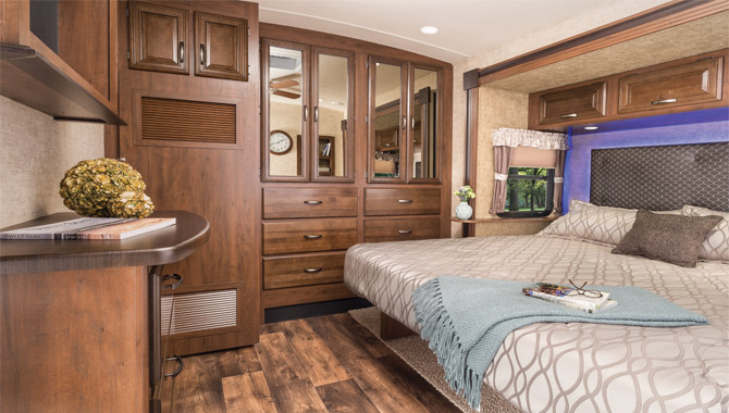 Rv Floor Plans ∣ Two Queen Beds Layout ∣ Rv Wholesale