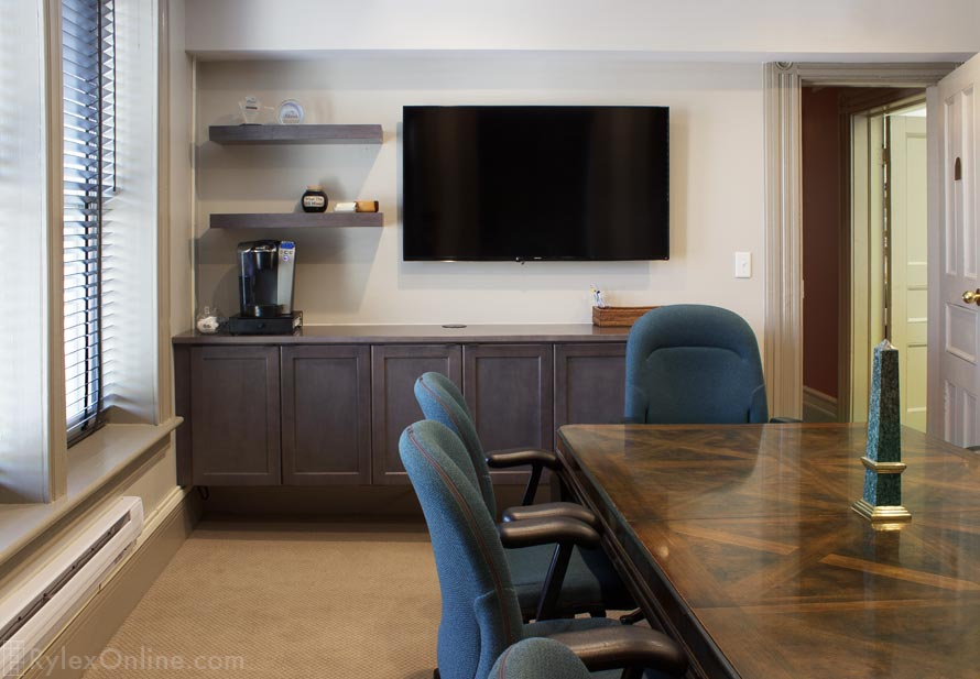 Conference Room Cabinets Floating Credenza Warwick Ny