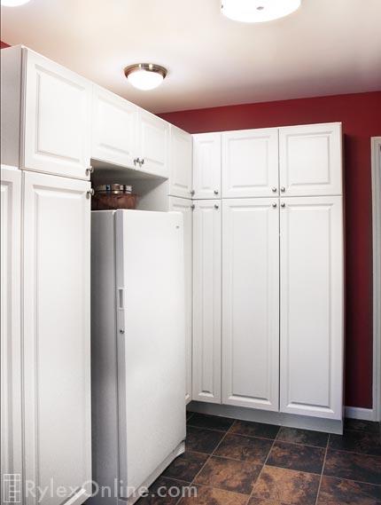Kitchen Pantry Cabinets Pantry Corner Cabinets Orange