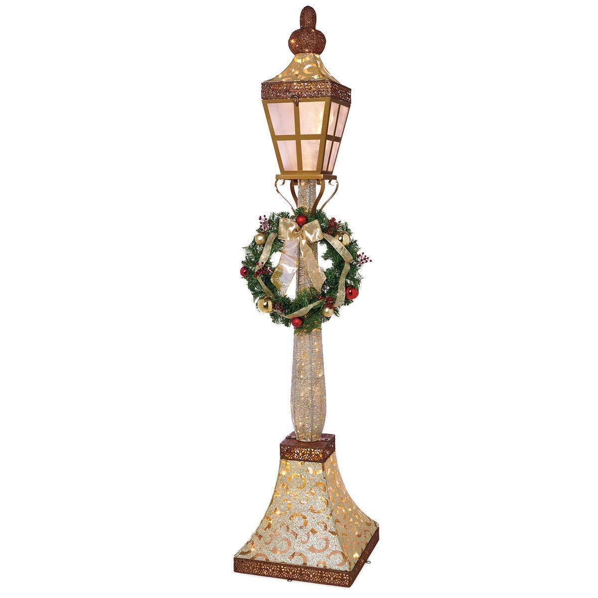 Home Accents 6ft Holiday Lamp Post