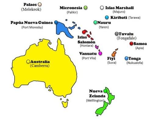 mapa de australia con sus estados » Full HD MAPS Locations - Another ...