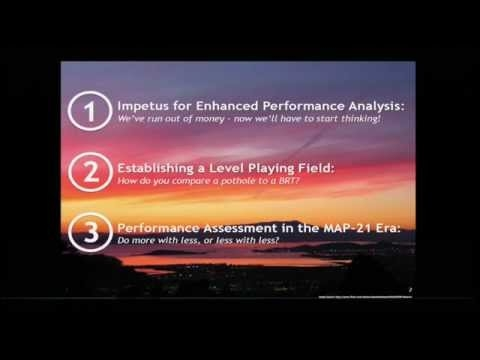 Performance Assessment for the SF Bay Area s Regional Transportation     Performance Assessment for the SF Bay Area s Regional Transportation Plan