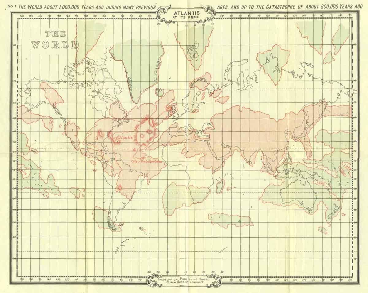 The Story Of Atlantis Maps