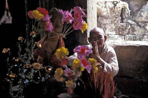 From Animism to Buddhism  10 Facts About Religion in Cambodia A Buddhist nun in Cambodia