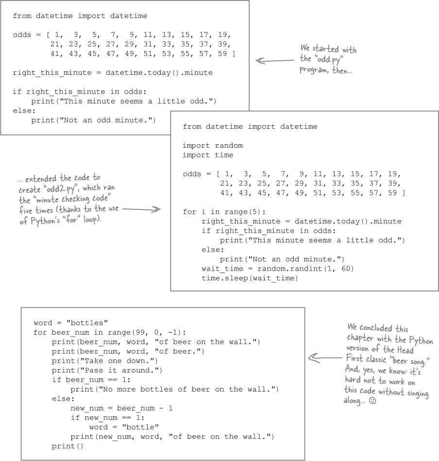4. Code Reuse: Functions and Modules - Head First Python ...