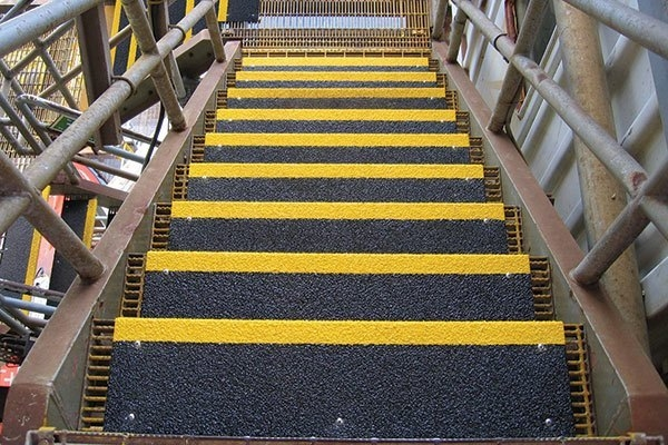Anti Slip Step Covers Stop Slips Falls Safeguard Technology | Carpet Stair No Slip Nosing | Stair Tread Nosing | Strips | Non Skid | Laminate Flooring | Gravel