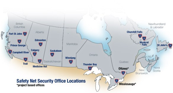 Safety Net Security   Location Map CONTACT US  Location Map