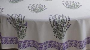 White Tablecloth, French Tablecloth, Provence Tablecloth