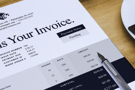 Free Invoice Templates   Sample Invoices for Word   Excel   Sage Canada Free invoice templates