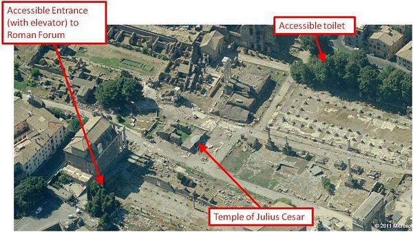 Roman Forum Handicapped Access Review by John Sage