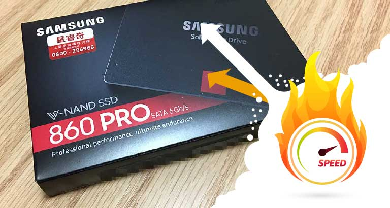 Samsung 860 Pro 1TB SSD for PS4 Pro 評測 1