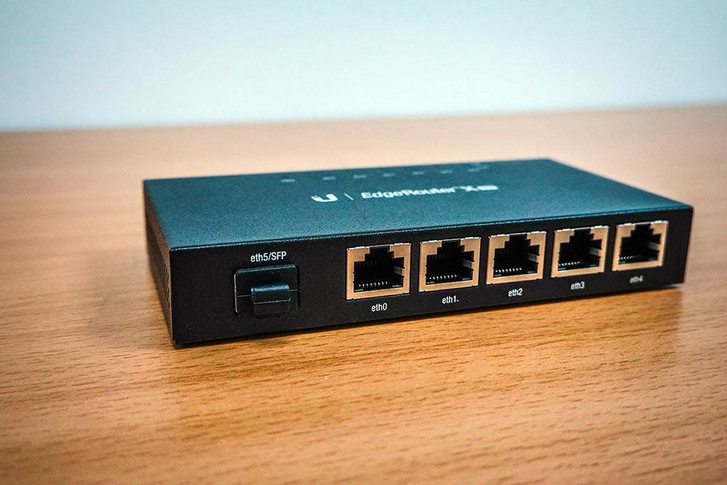 Ubiquiti EdgeRouter X SFP評測:迷你高階Router 9