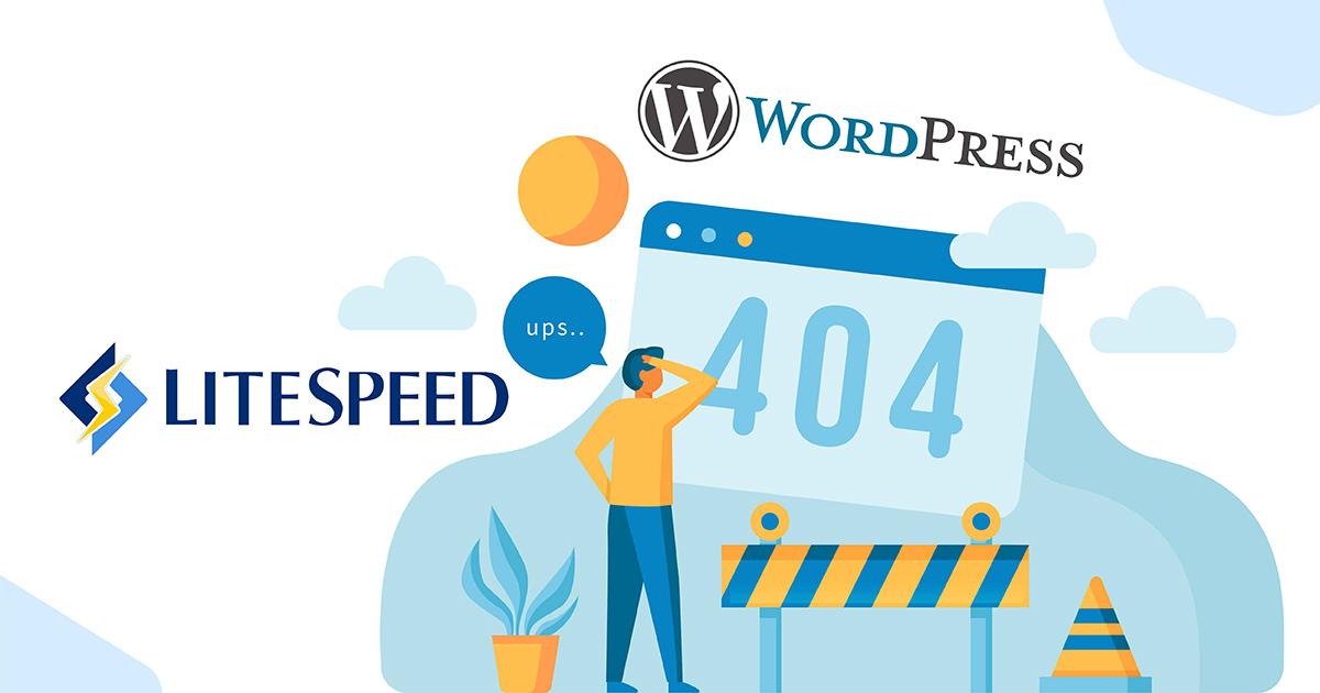 LiteSpeed Web Server 永久連結顯示 404 錯誤修正方法 10