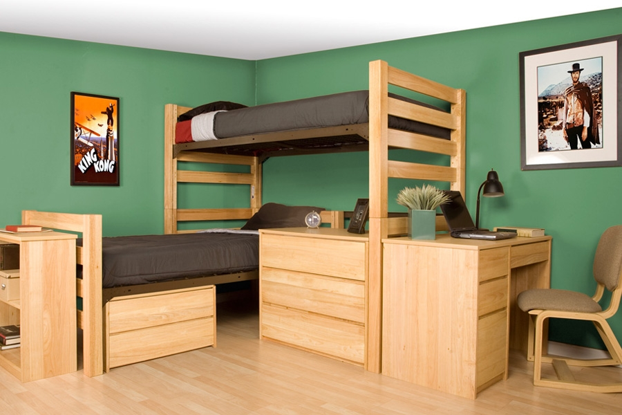 Lofted Bed System Salisbury University