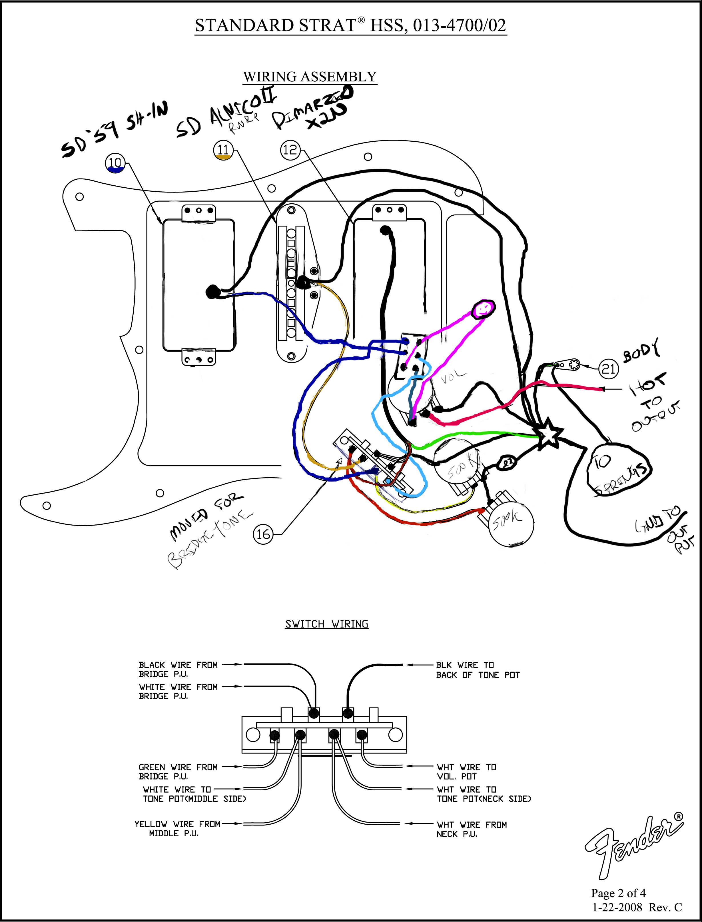 Luxury hhss wiring schematic for a guitars mold wiring diagram