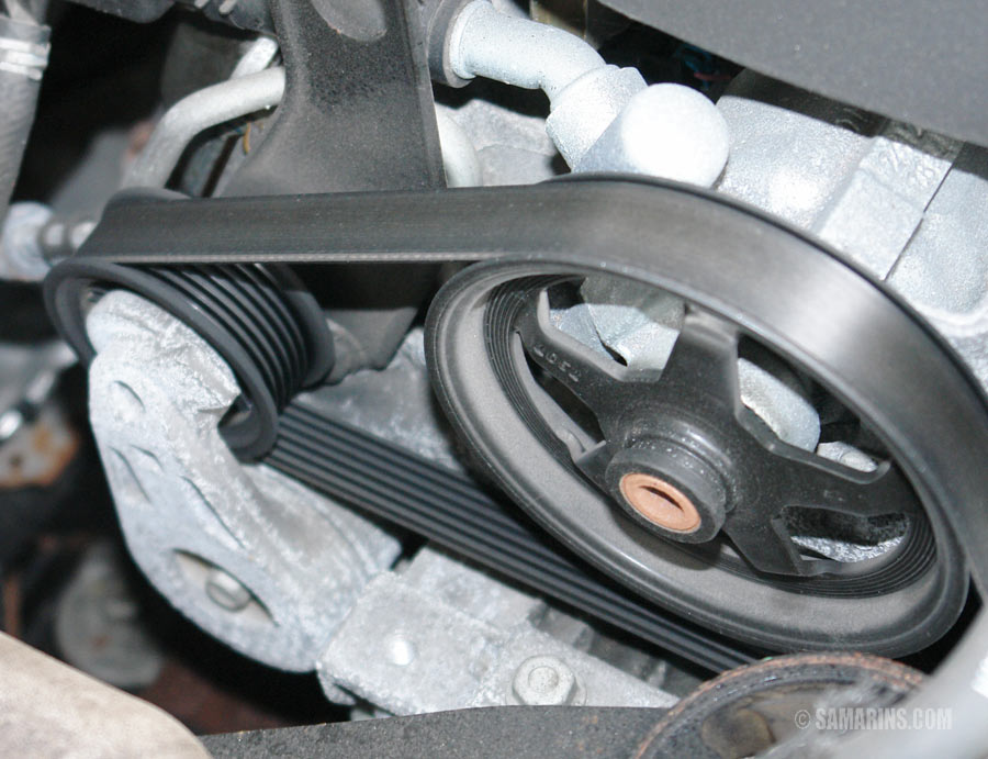 2005 Camry Serpentine Belt Replacement