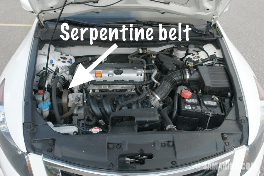 2008 Honda Cr V Belt Diagram