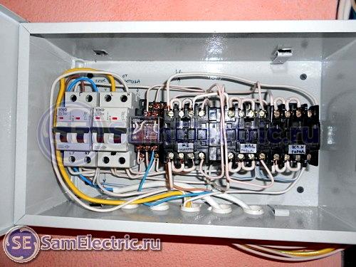 Automatisering för generatorn med egna händer